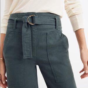 Madewell Utility Wide Leg Pants